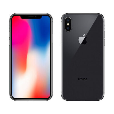 Apple iPhone X 64 GB Space Gray (Серый космос)