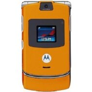 Motorola razr V3i Orange