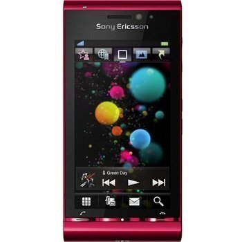 Sony Ericsson Satio U1 Red