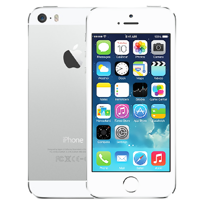 Apple iPhone 5S 16GB Silver (без Touch ID)