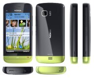 Nokia C5-03 Black Green