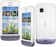Nokia C5-03 White Purple
